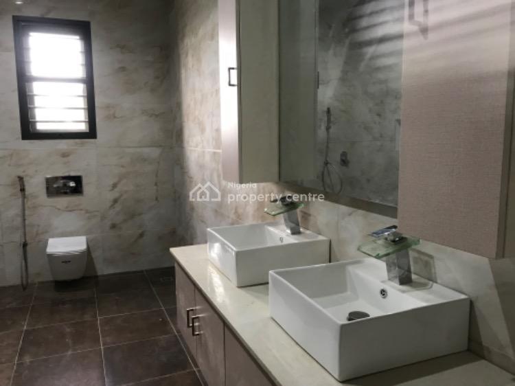 Luxury Built 4 Bedrooms Terraced Duplex with Bq, and Cinema, Guzape District, Abuja, Terraced Duplex for Sale