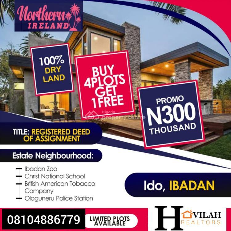 100% Dry Land, Ido, Ibadan, Oyo, Mixed-use Land for Sale