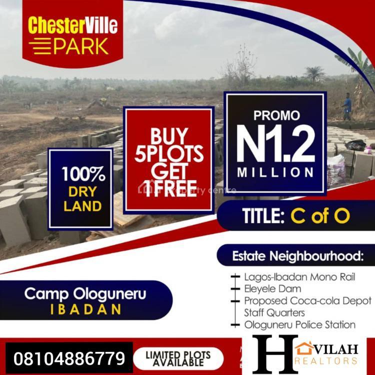 100% Dry Land, Camp Ologuneru, Ibadan, Oyo, Mixed-use Land for Sale