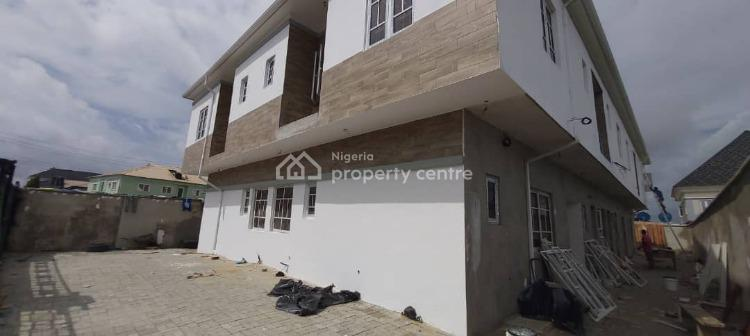 Self Service 2 Bedroom Flat, Before Igboefon Round About, Ologolo, Lekki, Lagos, Flat for Rent