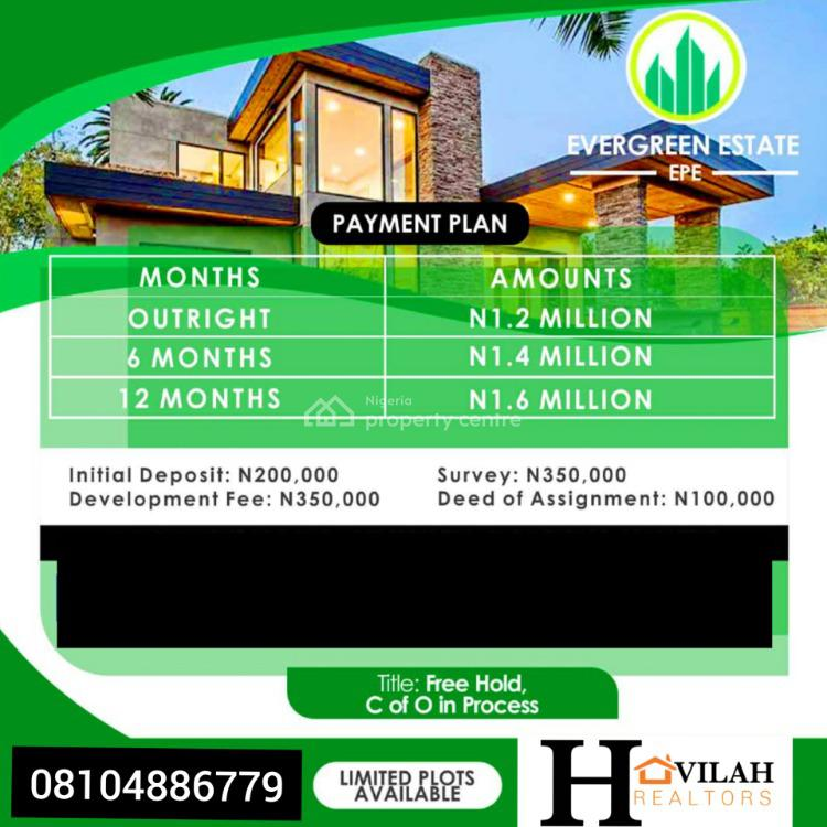 Buy and Build Estate, Odo-egiri, Epe, Lagos, Mixed-use Land for Sale
