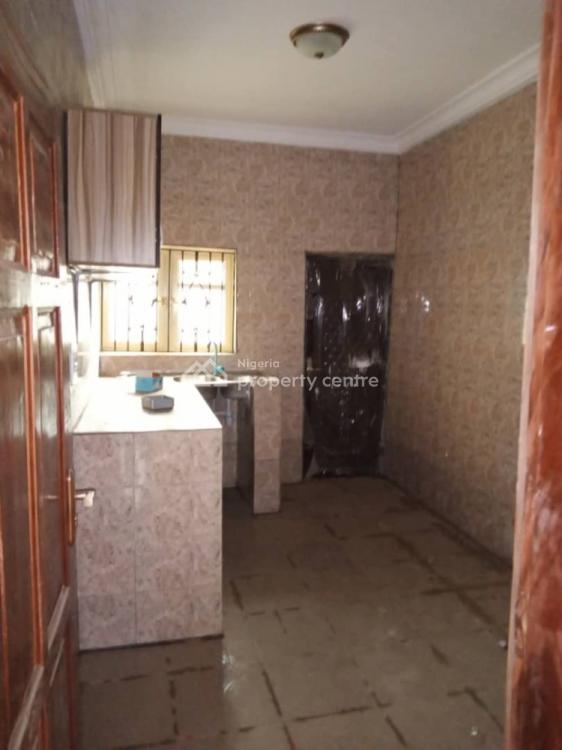 Brand New 3 Bedroom Flat, Off Vulcanizer Bus Stop, Ago Palace, Isolo, Lagos, Flat for Rent