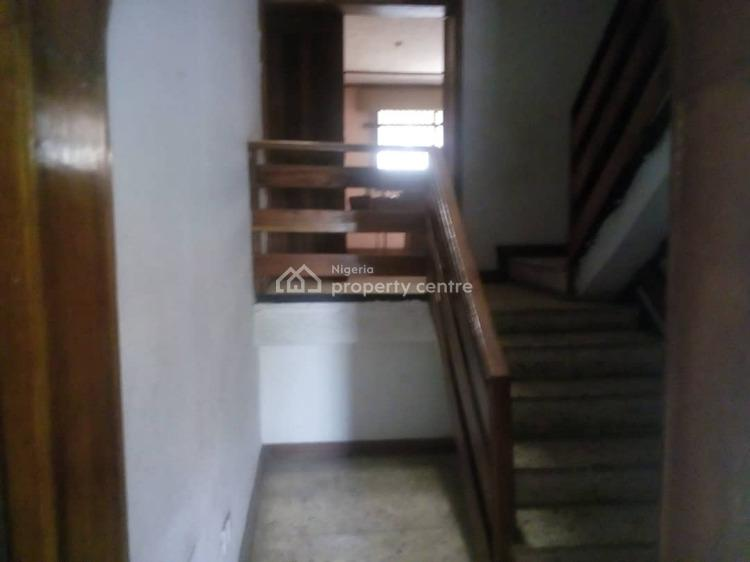 a 4-bedroom Wing of Duplex with 2-room Boys Quarters, at Afolabi Aina Street  By Alade Market, Allen, Ikeja, Lagos, Semi-detached Duplex for Rent