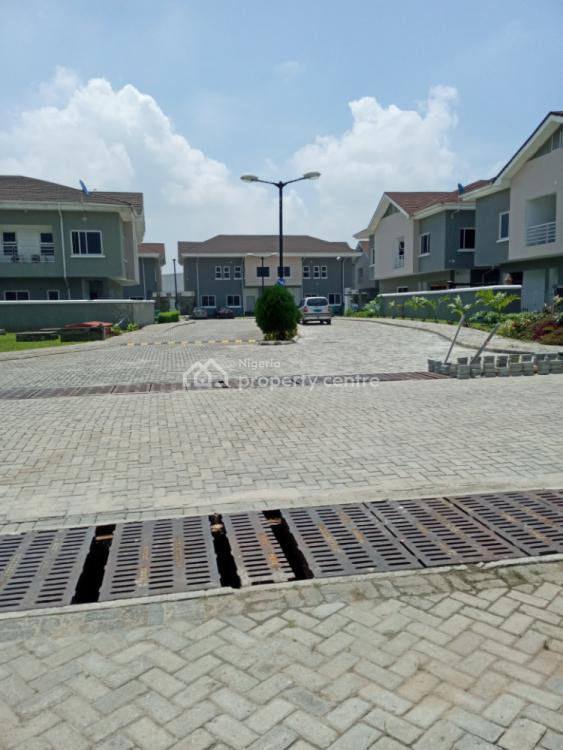 Well Finished 4 Bedroom Semi Detached Duplex with a Room Bq, Earls Court By Nike Art Gallery, Ikate Elegushi, Lekki, Lagos, Semi-detached Duplex for Sale