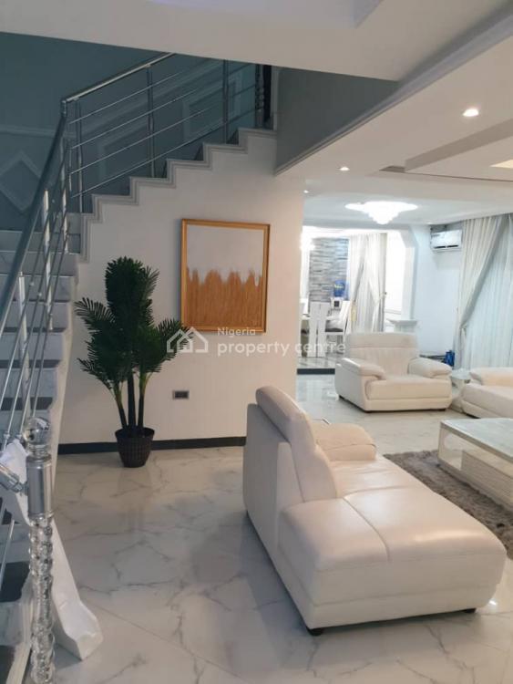 4 Bedrooms Duplex with Fully Fitchen Kitchen, Ikate Elegushi, Lekki, Lagos, Terraced Duplex Short Let