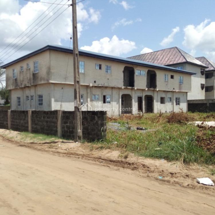 Block of Flats, Amigboro Street, Off Okuokoko- Ughelli Road, Warri, Delta, Block of Flats for Sale