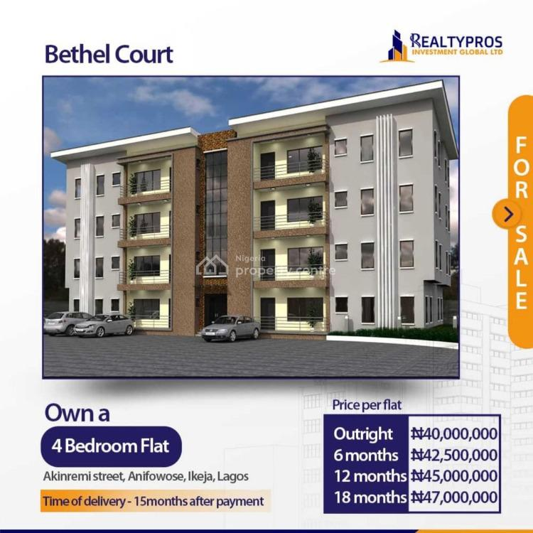 4 Bedroom with Facilities, Akinremi Street,  Anifowose, Ikeja, Lagos, Mini Flat for Sale