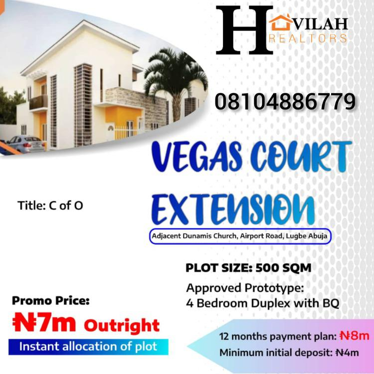 Buy and Build Estate, Adjacent to Dubamis Church, Airport Road, Lugbe District, Abuja, Mixed-use Land for Sale