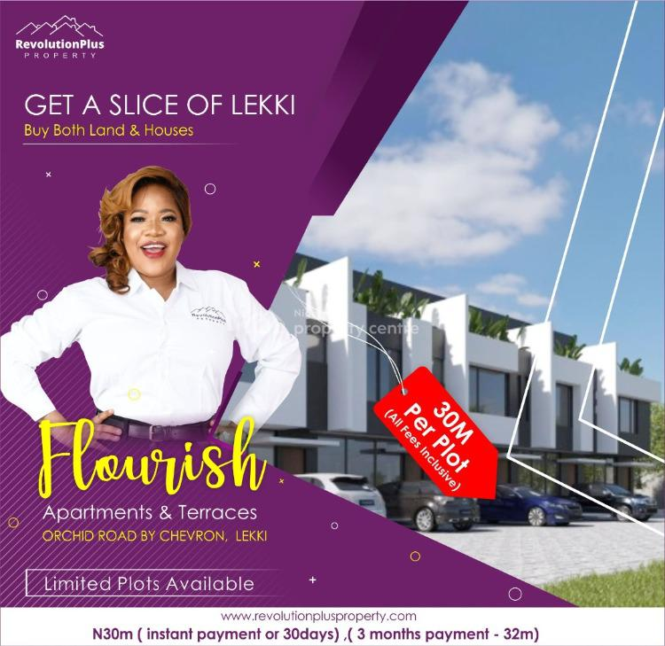 Certified Land with Title Ready to Build., Chevron Gate Along Orchid Road Lekki, Lafiaji, Lekki, Lagos, Mixed-use Land for Sale