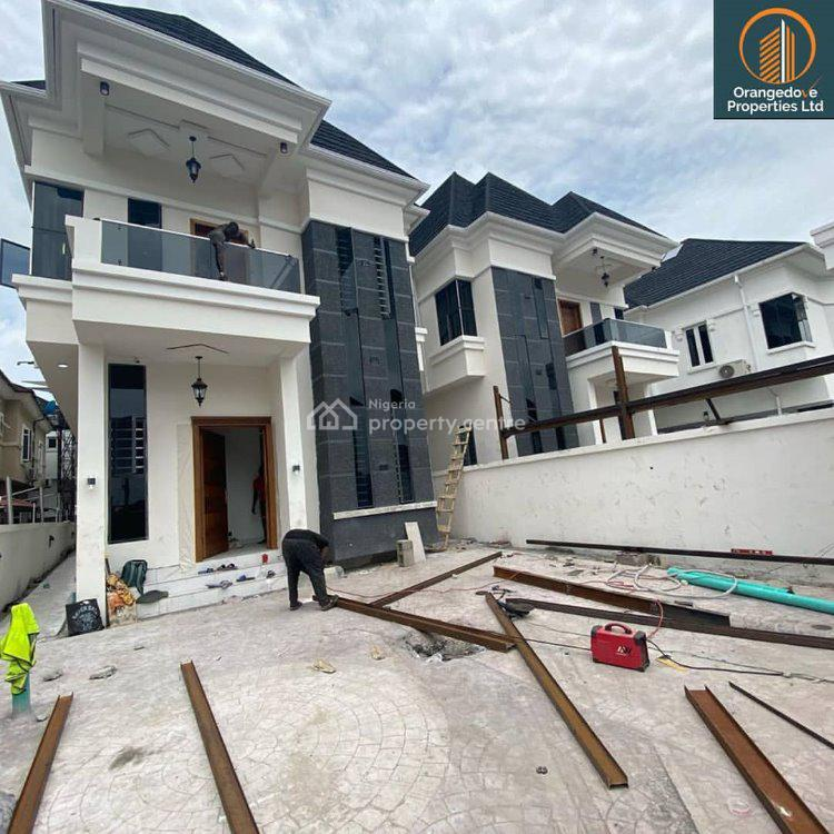 Luxury 5 Bedroom Fully Detached with Fully Fitted, Chevron, Lekki Phase 2, Lekki, Lagos, Detached Duplex for Sale