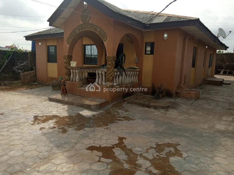 4 Bedroom Bungalow + Mini Flat + a Room Self Contained, Ewegbemi Bus Stop, Ekoro Road, Abule Egba, Agege, Lagos, Detached Bungalow for Sale