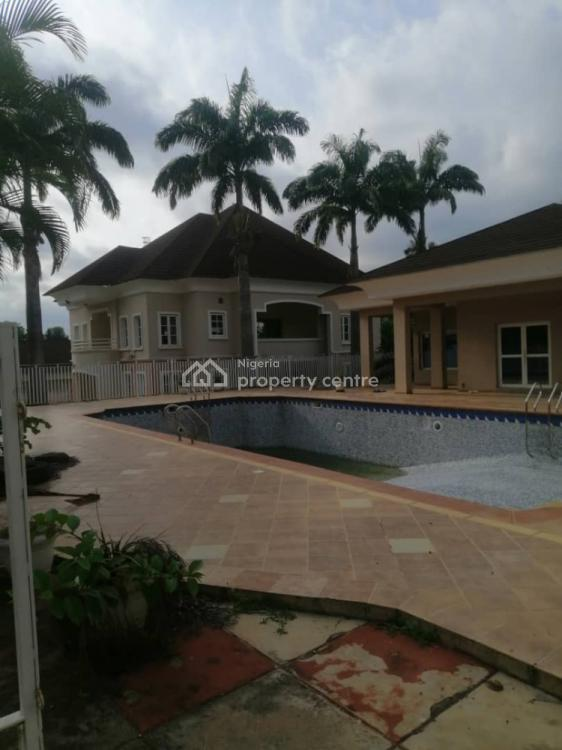 3 Units of 5 Bedroom Detached House with a Pool on 5000sqm Land, Asokoro District, Abuja, Terraced Duplex for Sale