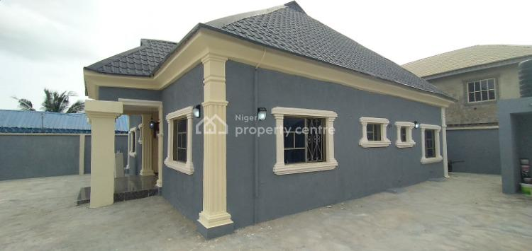 Newly Built & Well Finished 3 Bedroom with Excellent Facilities, Greenleaf Estate, Off Ebute-igbogbo Road, Ebute, Ikorodu, Lagos, Detached Bungalow for Sale