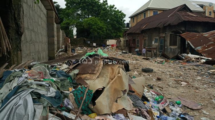 Half Plot, Olonode, Alagomeji, Yaba, Lagos, Residential Land for Sale