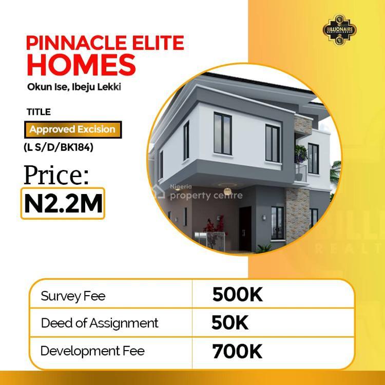 Land, Pinnacle Homes, Ibeju Lekki, Lagos, Land for Sale