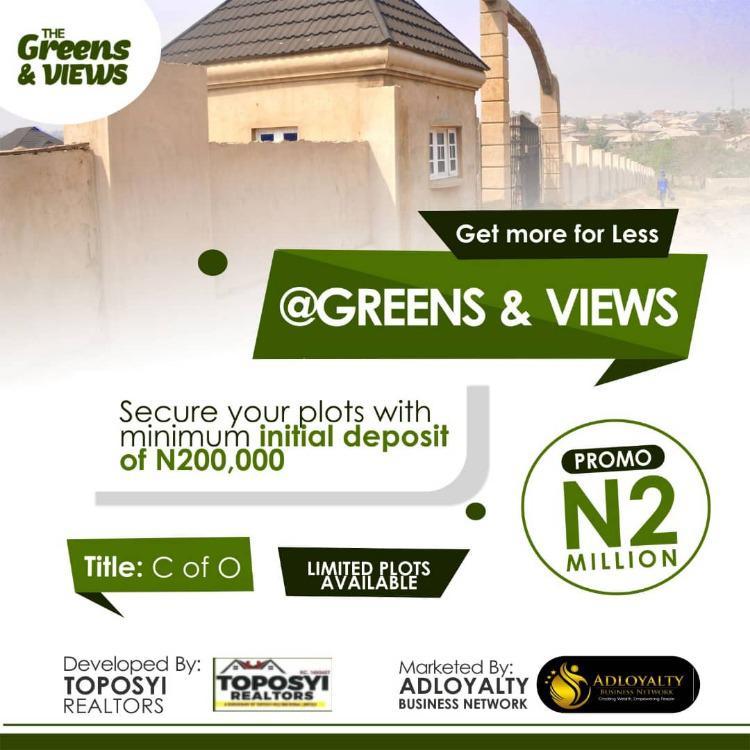 Green and Views, Ibadan, Oyo, Land for Sale