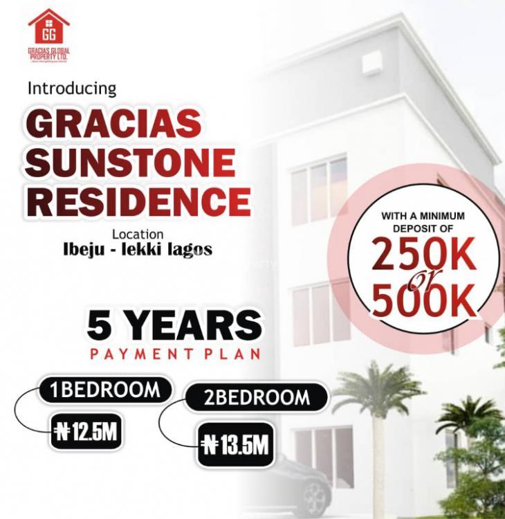 2 Bedroom Flat, Gracias Sunstone Residence, Ibeju Lekki, Lagos, Flat for Sale