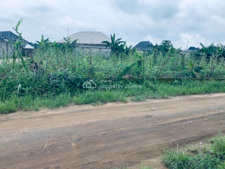 a Corner-piece Land, Off Eliozu- Eneka Link Road By Shell Cooperative ( Pearl Gardens Estat, Port Harcourt, Rivers, Residential Land for Sale