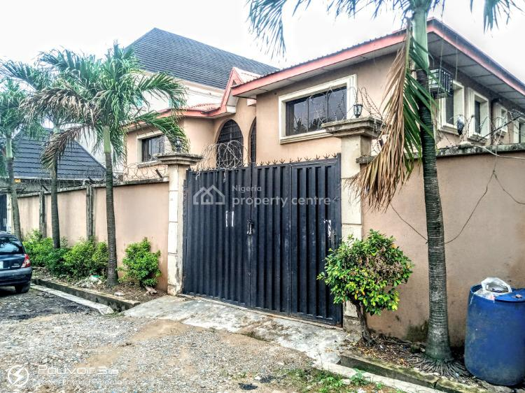 One Wing of a 5 Bedroom Duplex with Mini Flat Bq in a Cool Close, Oke Afa, Isolo, Lagos, Detached Duplex for Sale