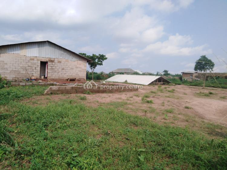 Two Plots of Land with Completed Miniflat, Odogunyan, Ikorodu, Lagos, Mixed-use Land for Sale