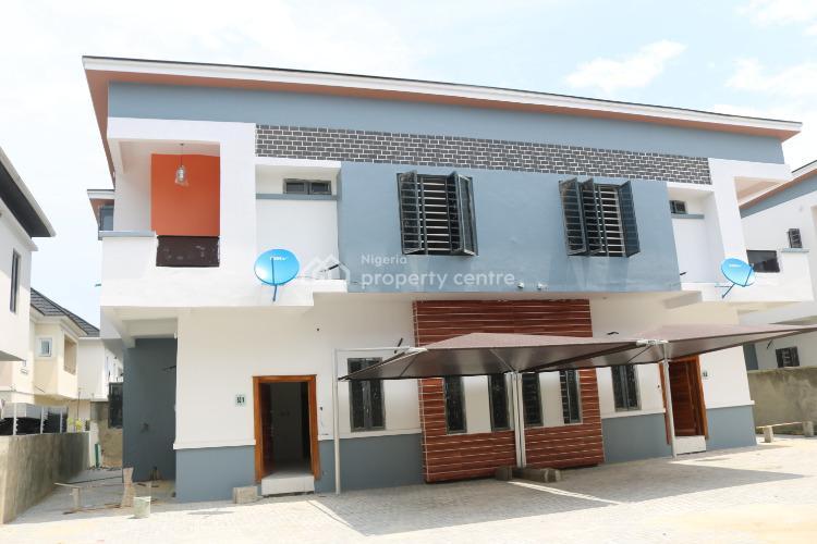 Luxury 4 Bedroom Semi-detached Duplex with Boys Quarter, Chevron, Lekki, Lagos, Semi-detached Duplex for Sale