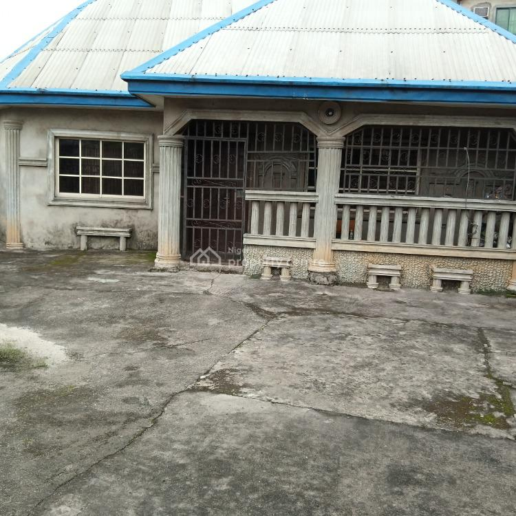 Well Located and Nicely Built 3 Bedroom Detached Bungalow, Farm Road 2, Eliozu, Port Harcourt, Rivers, Detached Bungalow for Sale