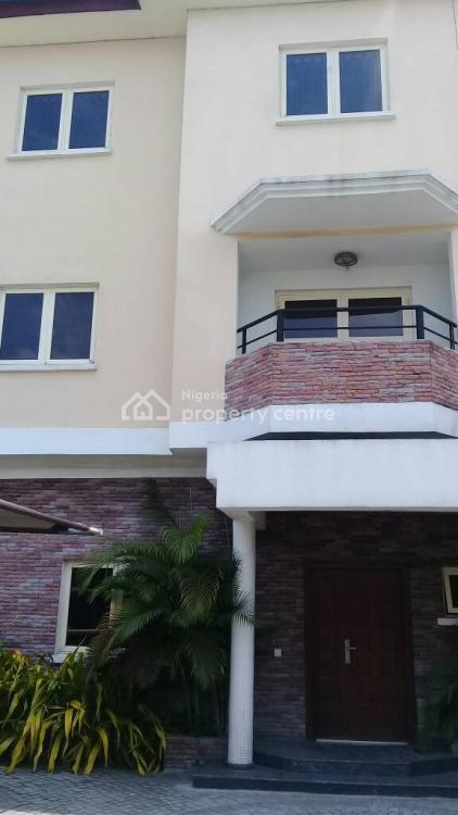 5 Bedroom Semi-detached Duplex with a Room Boys Quarter, Off Eko Street, Parkview Estate, Parkview, Ikoyi, Lagos, Semi-detached Duplex for Sale