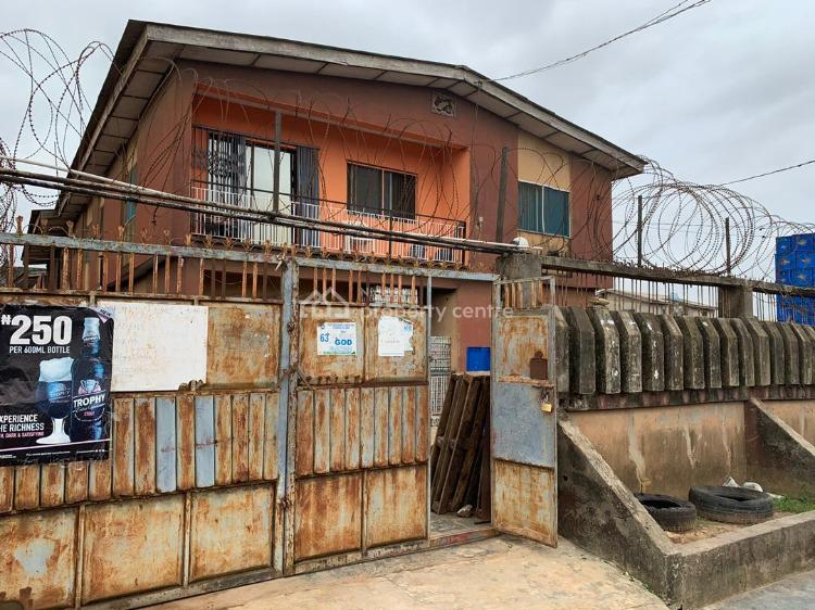 Full Building Containing 4 Flats of 3 Bedrooms on a 960 Sqm Land, Arida Bus Stop, Idimu Road, Ikotun, Lagos, Block of Flats for Sale