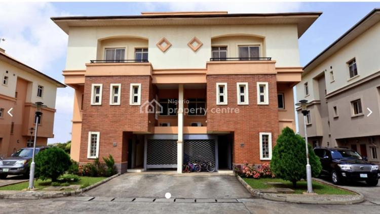 4 Bedroom Semi Detached House with 2 Rooms Bq Lock Up Garage, Living Gold Estate, Banana Island, Ikoyi, Lagos, Semi-detached Duplex for Rent