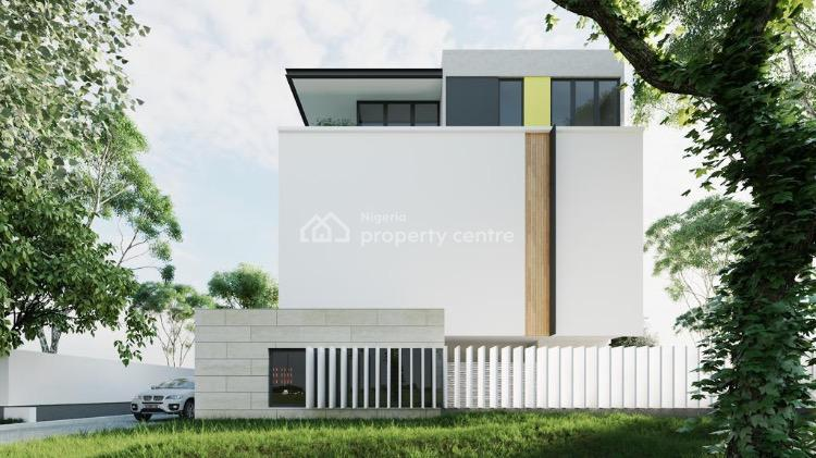 Off Plan 5 Units of  4 Bedroom Terrace with a Room Bq., Parkview Estate, Parkview, Ikoyi, Lagos, House for Sale