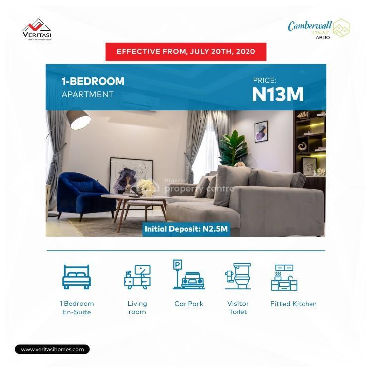 One Bedroom Apartment, Camberwall Estate, Abijo Gra, Abijo, Lekki, Lagos, Self Contained (single Rooms) for Sale