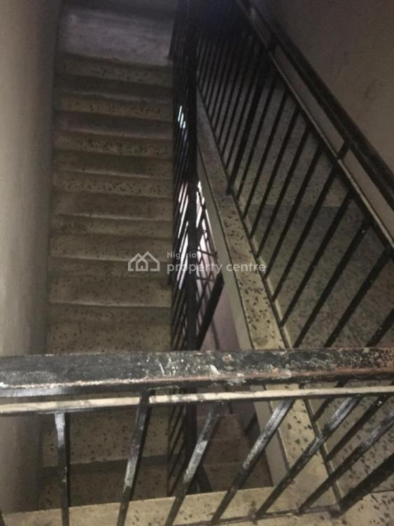 a 3 Bedroom Flat Upstairs Back, Babs Animashu Street Surulere, Bode Thomas, Surulere, Lagos, Flat for Rent