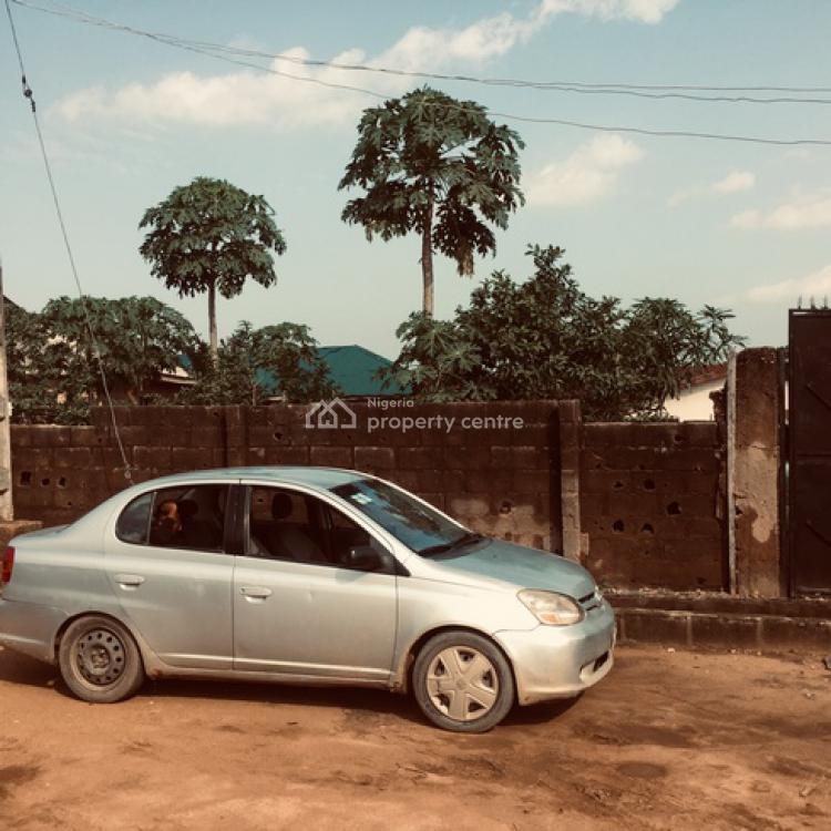 Dry Land Fenced Round with Gate in a Secured Close, Near Magboro Bus Stop , Off Lagos Ibadan Express Way, Magboro, Ogun, Residential Land for Sale