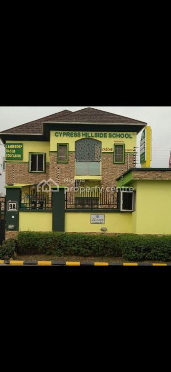 a 5 Bedrooms Fully Detached House with Bq  Used As School, Lekki Phase 1, Lekki, Lagos, School for Sale