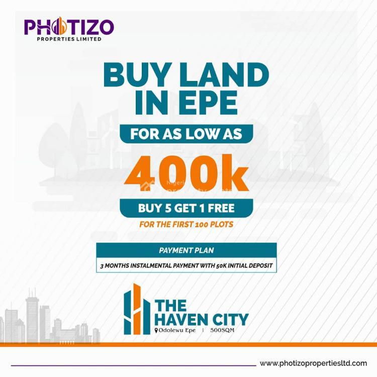 Land, Odolewu Epe/ijebu Ode Expressway, Epe, Lagos, Residential Land for Sale