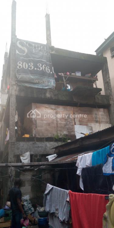 4 Storey Building on Quarter Plot, Hawley, Obalende, Lagos Island, Lagos, Block of Flats for Sale