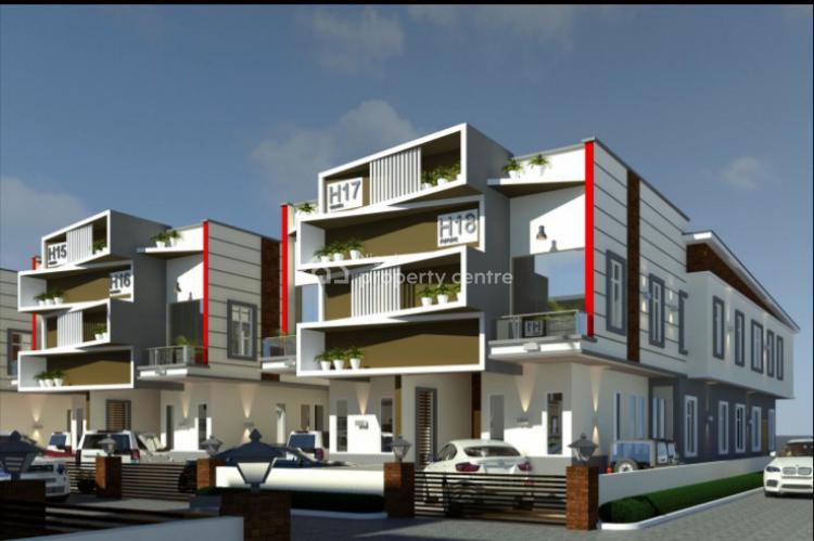 Pantheon Smart Homes, Luxury 4 Bedroom, Orchid, Chevron Tollgate, Ikota, Lekki, Lagos, Semi-detached Duplex for Sale