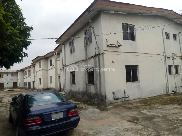 8 No. Terrace Three-bedroom Flats with Excellent Facilities., Valley Estate, Mangoro, Ikeja, Lagos, Block of Flats for Sale