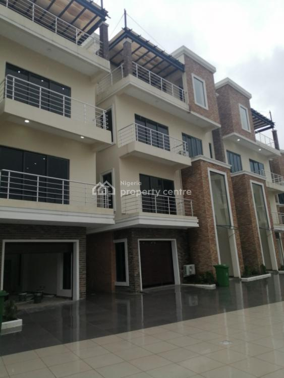Spacious 5 Bedrooms Terrace with Quality Finishes, Off Banana Island Road, Old Ikoyi, Ikoyi, Lagos, Terraced Duplex for Sale