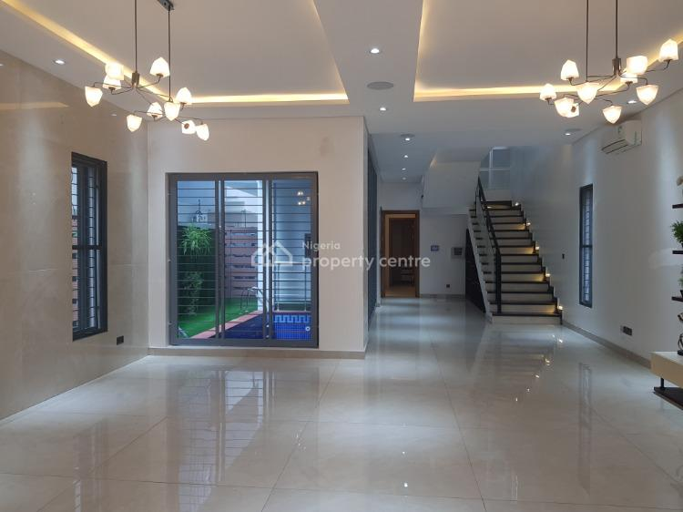 Luxury 5 Bedroom Detached House with Bq and Swimming Pool, Lekki Phase 1, Lekki, Lagos, Detached Duplex for Sale