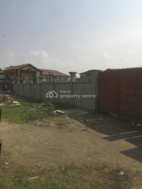 5 Plots Fenced Round with Gate, After Blenco, Ado, Ajah, Lagos, Mixed-use Land for Sale