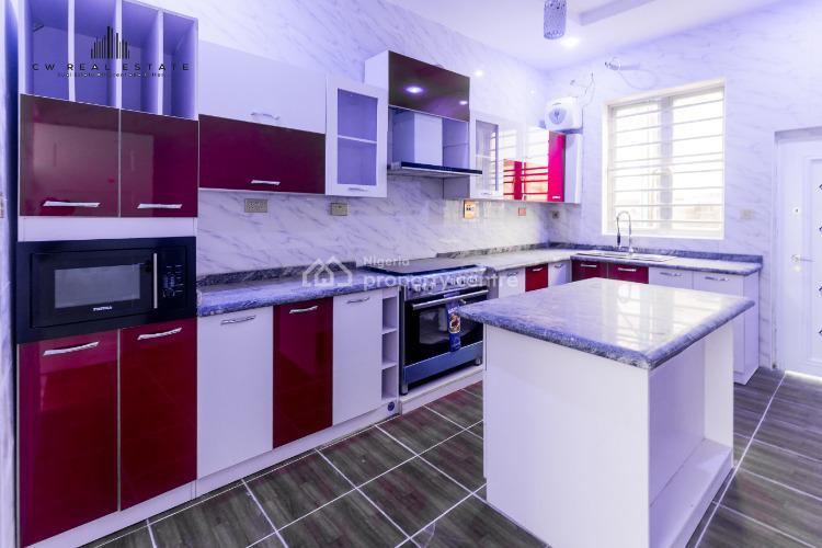 Newly Built 4 Bedroom Semi Detached, Chevron Alternative, Lekki Expressway, Lekki, Lagos, Semi-detached Duplex for Sale
