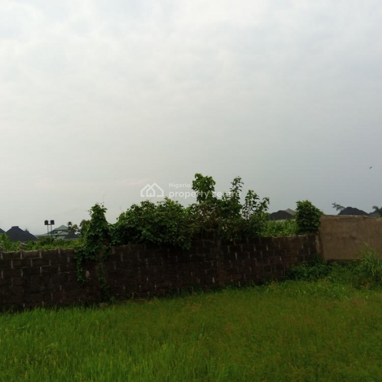 Well Located 90 Plots of Dry and Firm Land with C of O, Eliozu Road By Farm Road 2, Eliozu, Port Harcourt, Rivers, Mixed-use Land for Sale