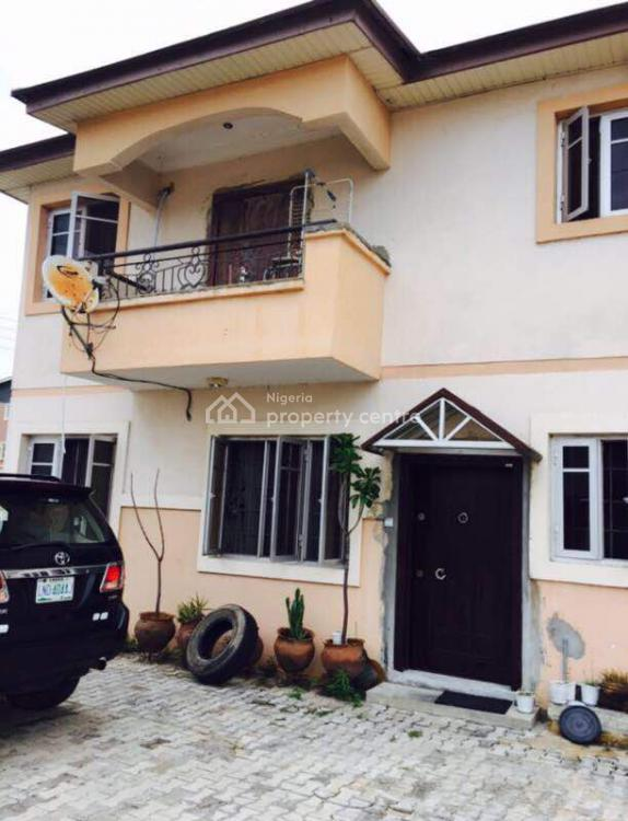 Distress Beautiful 3 Bedrooms Semi Detached Duplex, New County Estate, Jakande, Lekki., Lekki, Lagos, Semi-detached Duplex for Sale