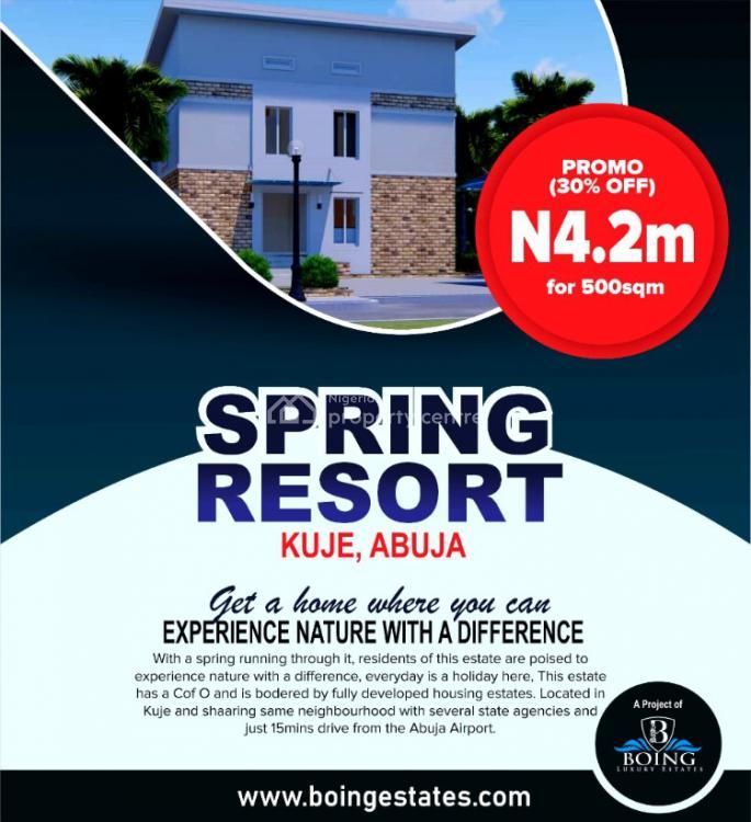 Land, Spring Resorts Estate, Kuje, Abuja, Residential Land for Sale