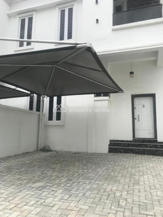 Newly Built Lovely Four Bedroom Semi Detached Duplex and a Bq, Chevron, Lekki, Lagos, Semi-detached Duplex for Rent