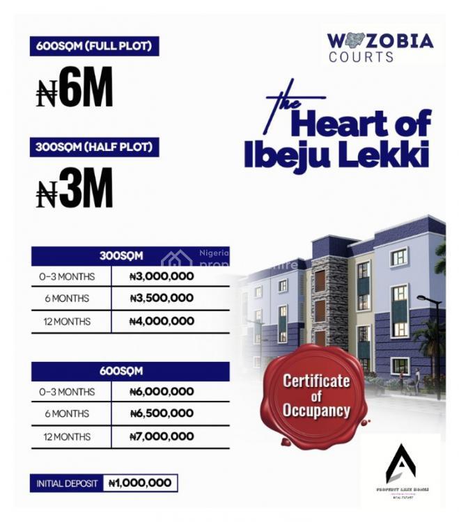 Dry and Secured Estate Land with Registered Survey, Bolorunpelu, Ibeju Lekki, Lagos, Residential Land for Sale