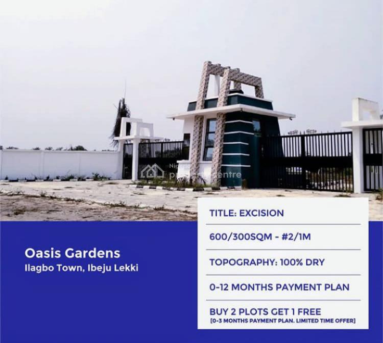 Irresistible Land Offer!!!!, Ilagbo Town, Off Lekki Coastal Road/free Trade Zone Road., Ibeju Lekki, Lagos, Land for Sale