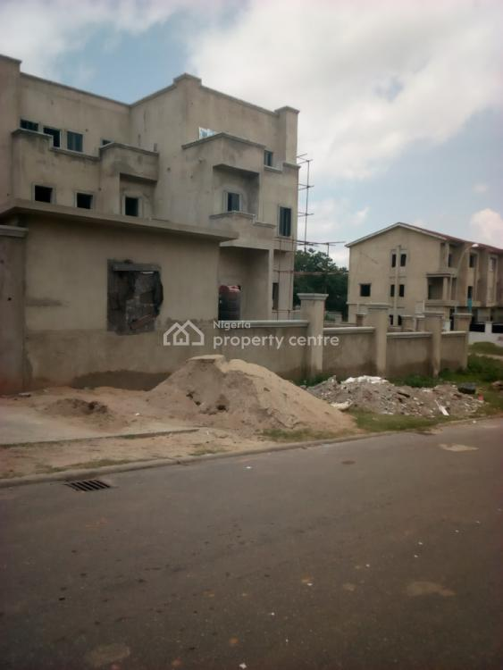 Four (4) Bedrooms with Bq, Guzape District, Abuja, Terraced Duplex for Sale