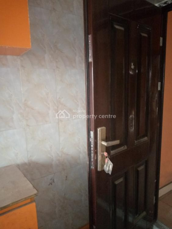 Standard 2 Bedroom Apartment Secured Estate with Prepaid Metre, Fagba, Agege, Lagos, Flat for Rent